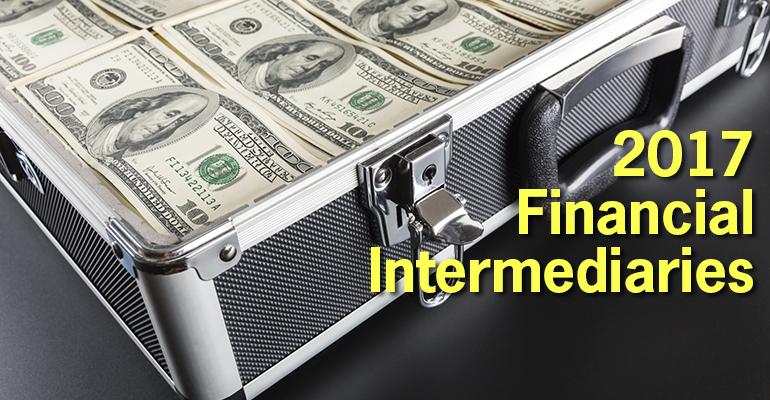 top financial intermediaries 2017