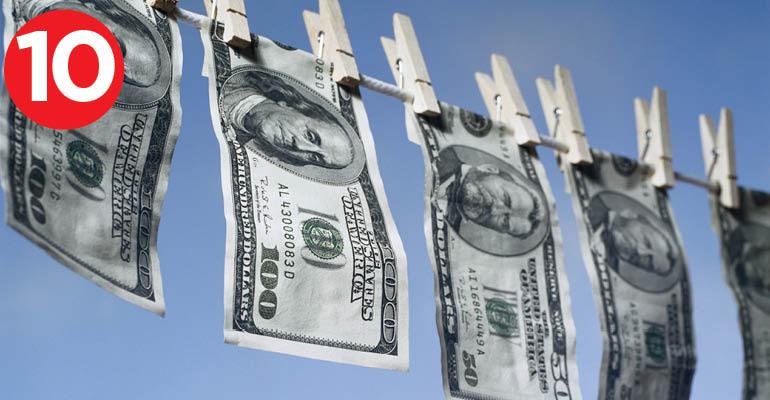money launder