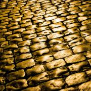gold brick street