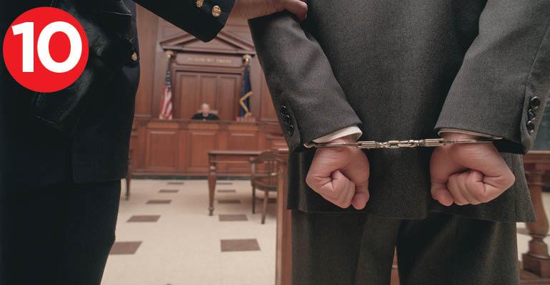 handcuffs court judge