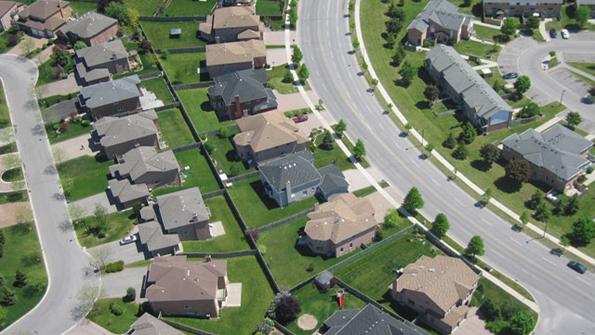 aerial-suburb