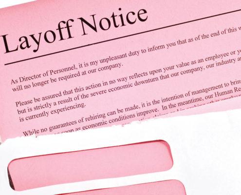pink slip layoff notice