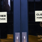 closed forever sign