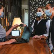 hotel front desk coronavirus