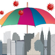 skyline umbrella coronavirus
