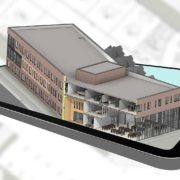 tablet rendering building