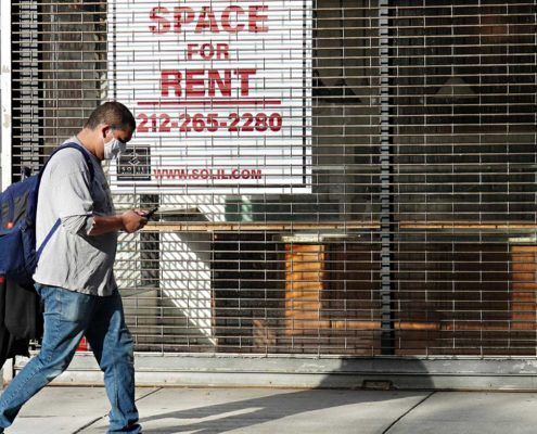 commercial space for rent sign