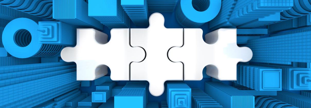 city puzzle pieces