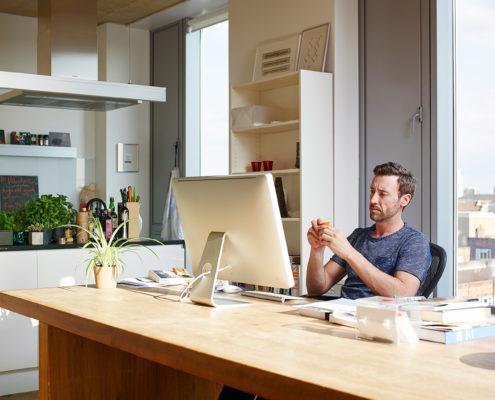 apartment workspace