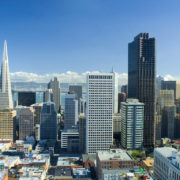 Office buildings in downtown San Francisco