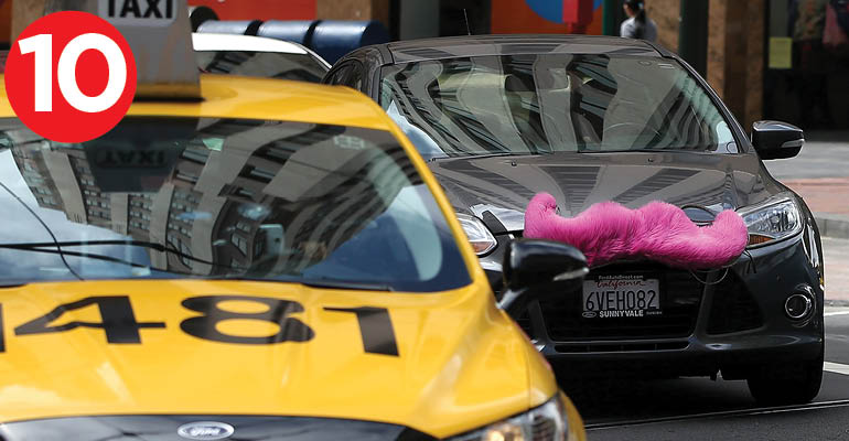 lyft and taxi