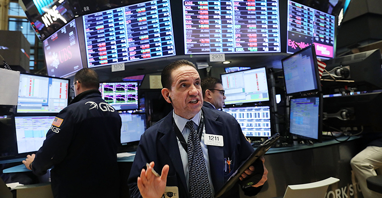 stock price drop