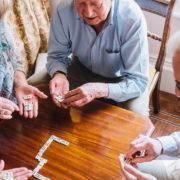 senior living dominoes