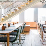 WeWork shared living space
