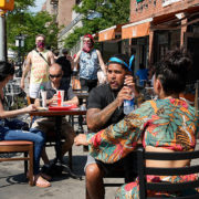 sidewalk dining new york city