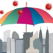 skyline umbrella coronavirus