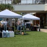 open-air pop-up retail