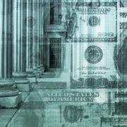 bank columns money