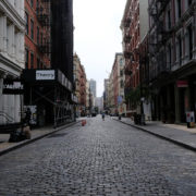 New York City empty street