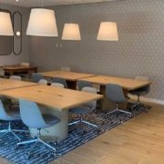 multifamily co-working space