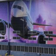 Boeing factory in Renton, Wash.