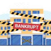 commercial building bankrupt