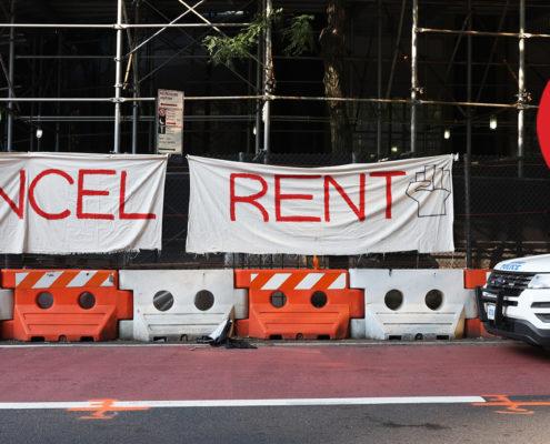 rent forgiveness sign